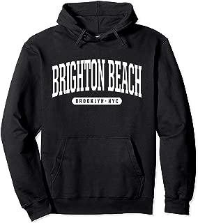NYC Borough Brooklyn New York Brighton Beach Pullover Hoodie