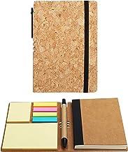Belle Vous A6 Linjerade Skrivböcker/Journal med Penna och Fästisar (2 Pack) - 10 x 14.5cm – 70 Sidor – Premium Antecknings...