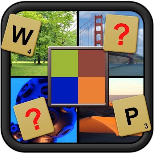 Ce qui est pixélisé - photo de mot deviner réarrangeant jeu de puzzle et acclamé développeur de cerveau pour tous les âges