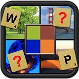 ¿Qué es pixelado - palabra del cuadro adivinando reorganizar juego de puzzle y aclamado desarrollador de cerebro adecuado para todas las edades