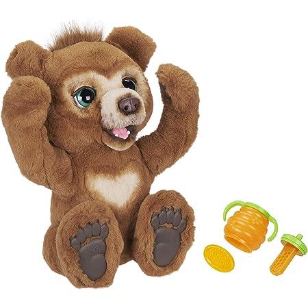 Hasbro FurReal-Cubby Il Mio Orsetto Curioso (Peluche Orso Interattivo con Oltre 100 Combinazioni di Suoni e Movimenti) Versione Italiana