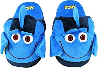 Stompeez Animated Dory Plush Slippers - Ultra Soft and Fuzzy - Fins Flap and Flutter as You Walk