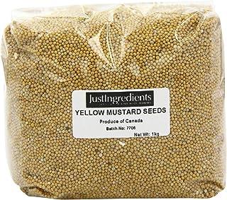 JustIngredients Essential Semillas de Mostaza Amarilla -