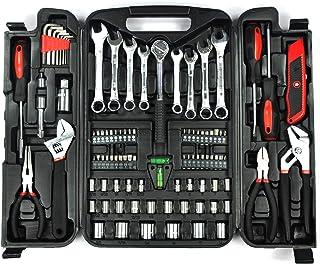 KINGORIGIN 95 Piece,Home Tool Kits,Multi Tools Set, Homeowner Tool Sets,Home Repair Tools