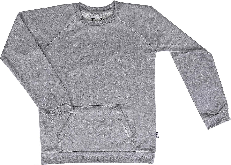 Boys Sweatshirts Pullover Light Youth Big Long Sleeve