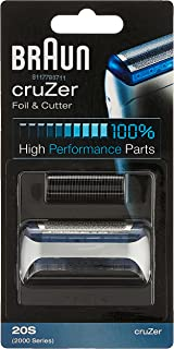Braun 20s Electric Shaver Replacement Foil and Cutter, 1