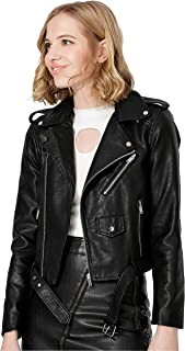 Best cole haan signature petite leather moto jacket Reviews
