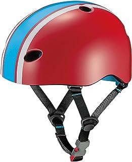 オージーケーカブト(OGK KABUTO) 自転車 ヘルメット 子ども用 FR-MINI(FR・ミニ) ラインレッド 幼児用(頭囲:47~51cm)