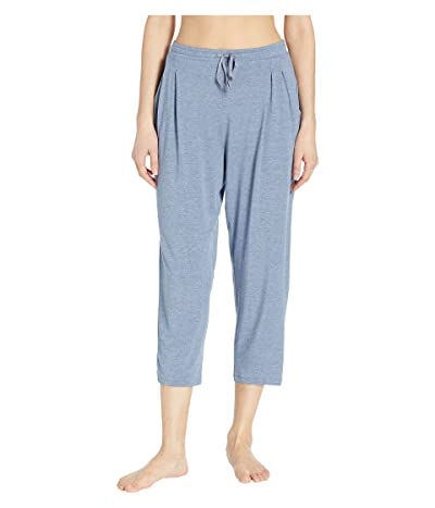 Donna Karan Capri Pants (Blue Heather) Women