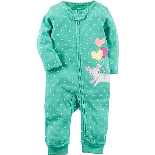 bc6771444934 Baby Zip up Pajamas  Amazon.com