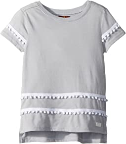 7 For All Mankind Kids High-Low Tee (Big Kids)