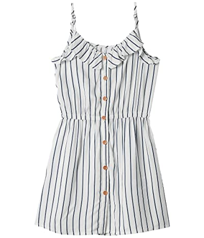 Roxy Kids Nature Lover Stripe Dress (Little Kids/Big Kids) (Mood Indigo Bicostripes) Girl