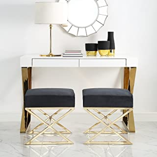 Best black and gold ottoman Reviews