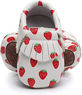 Best strawberry baby shoes Reviews