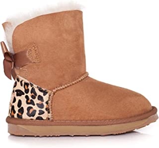 Ever UGG Kids Mini Boots with Bailey Bow
