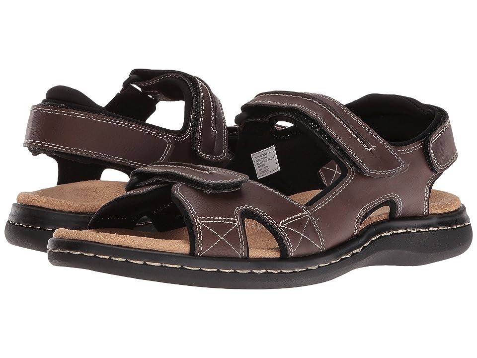 Dockers Newpage Quarter Strap Sandal (Briar) Men