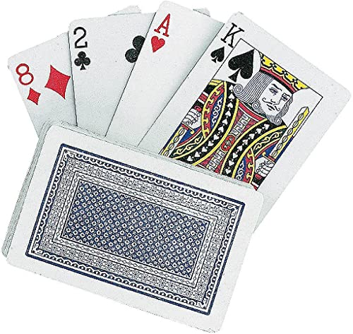 Deck of Jumbo Playing voitureds - 5.5 X 3.5
