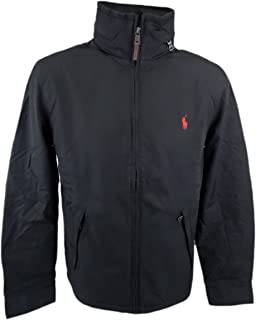 f0cde073 Polo Ralph Lauren Men's Pony Perry Lined Jacket Coat Big and Tall Aviator Navy  Blue