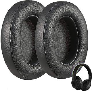 Ear Pads for Beats Studio 2.0, Studio 3 Wired & Wireless, B0500, B0501 Headphones, Replacement Memory Foam Ear Pad, Left/Right Pair (Black)