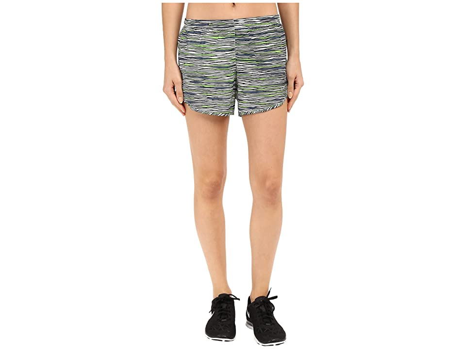 Nike Equilibrium Modern Tempo Running Short (White/Reflective Silver) Women