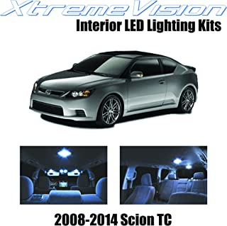 XtremeVision Interior LED for Scion TC 2008-2014 (7 Pieces) Cool White Interior LED Kit + Installation Tool