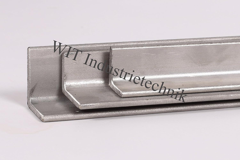 1.0038 ST37 B/&T Metall Stahl Winkel 15x15x3 mm in L/ängen /à 500 mm 0//-3 mm S235