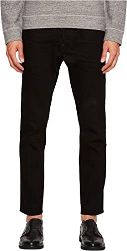 DSQUARED2 - Bull Wash Skater Jeans in Black