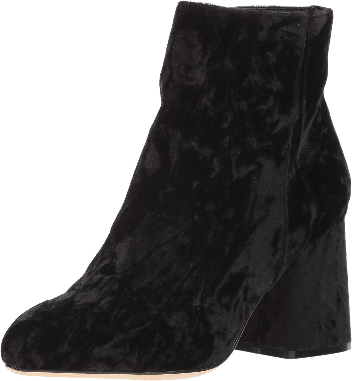 Nicole Miller Women's Cesena-NM Fashion Boot, Black Velvet, 7.5 M US