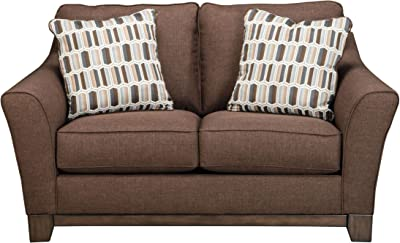 Amazon.com: benchcraft 2740335 traemore Loveseat, lino ...