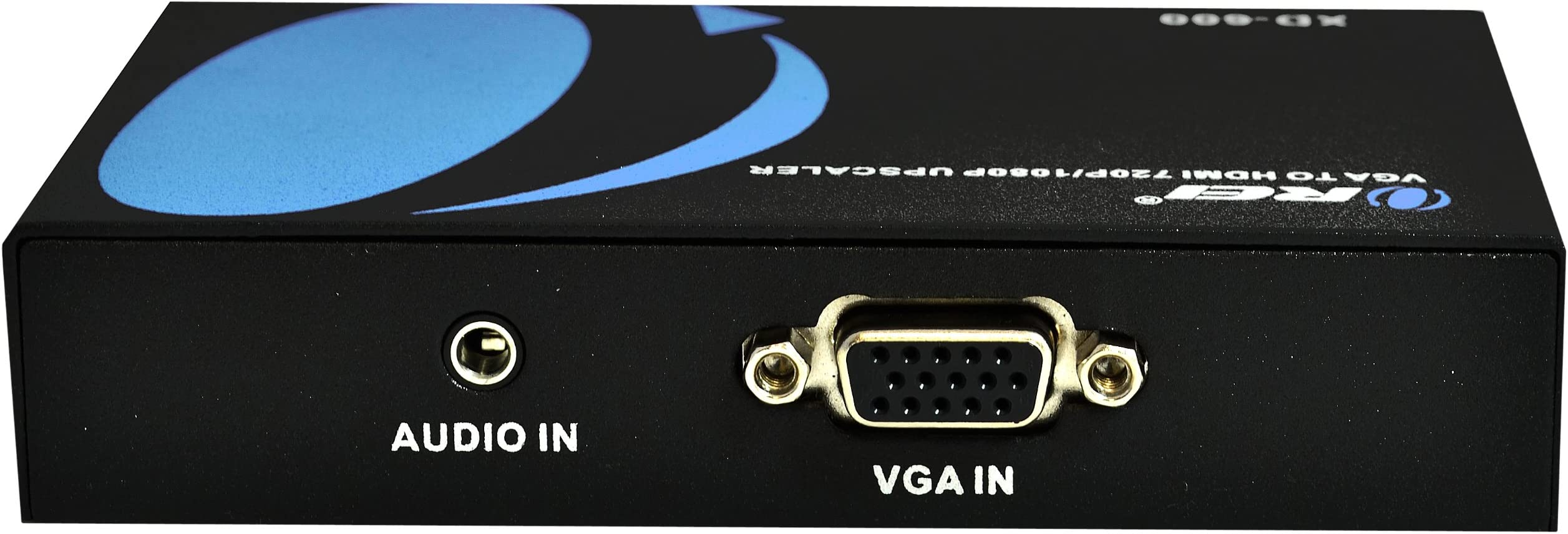 OREI XD-600 VGA PC/Laptop to HDMI Video Converter -Upscaler Up to 720P/1080P Converter with Audio Jack