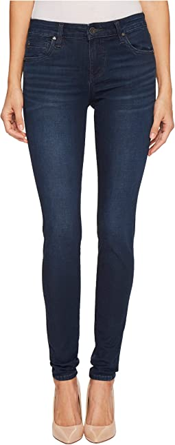 KUT from the Kloth - Mia Toothpick Skinny in Quintessential w/ Euro Base Wash
