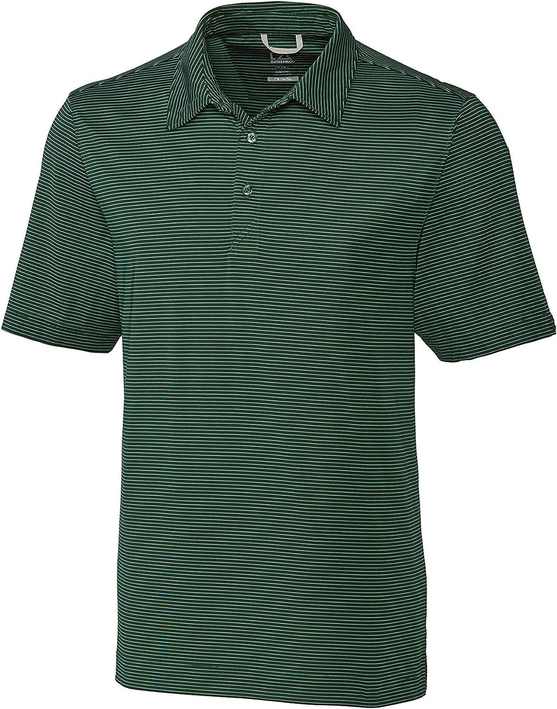 Cutter & Buck BCK00057 Men's Big & Tall Prevail Stripe Polo Shirt