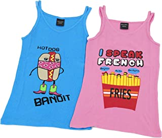Just Love Tank Tops for Girls (Pack of 2)
