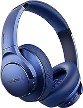 هدفون Anker Soundcore Life Q20 Hybrid Active لغو نویز ، هدفون بی سیم بالای گوش ، 40H Playtime ، Hi-Res صوتی ، باس عمیق ، فنجان حافظه فنجان گوش ، برای سفر ، دفتر خانه (آبی)
