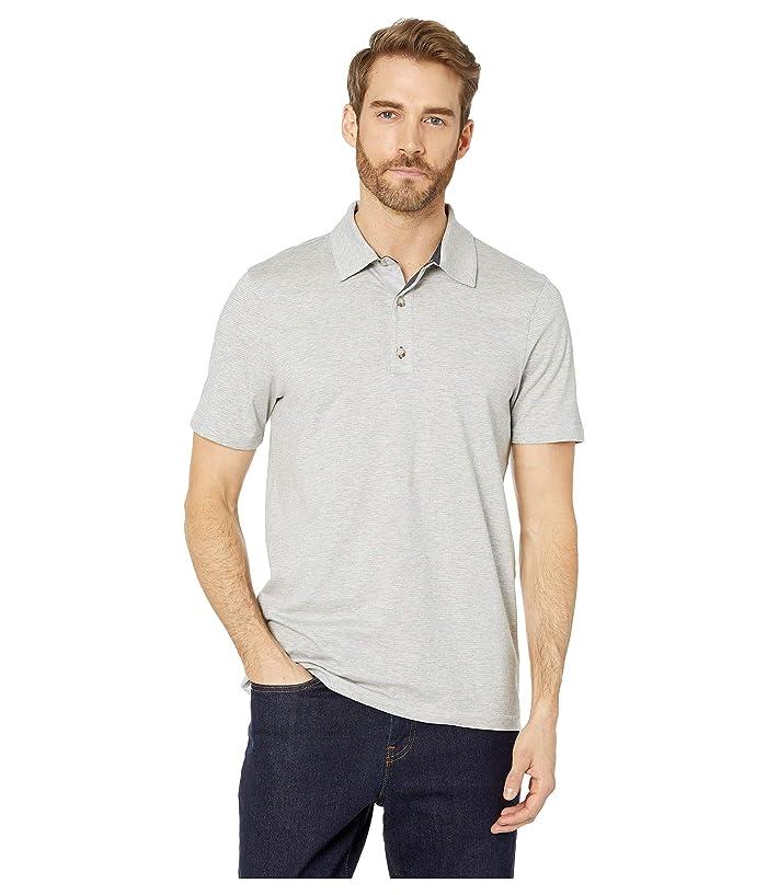 Toad&Co Tempo Short Sleeve Polo (Heather Grey) Men