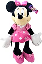 Jay Franco Minnie Mouse Plush Stuffed Pillow Buddy - Kids Super Soft Polyester Microfiber, 21 inch (Official Disney Product), E