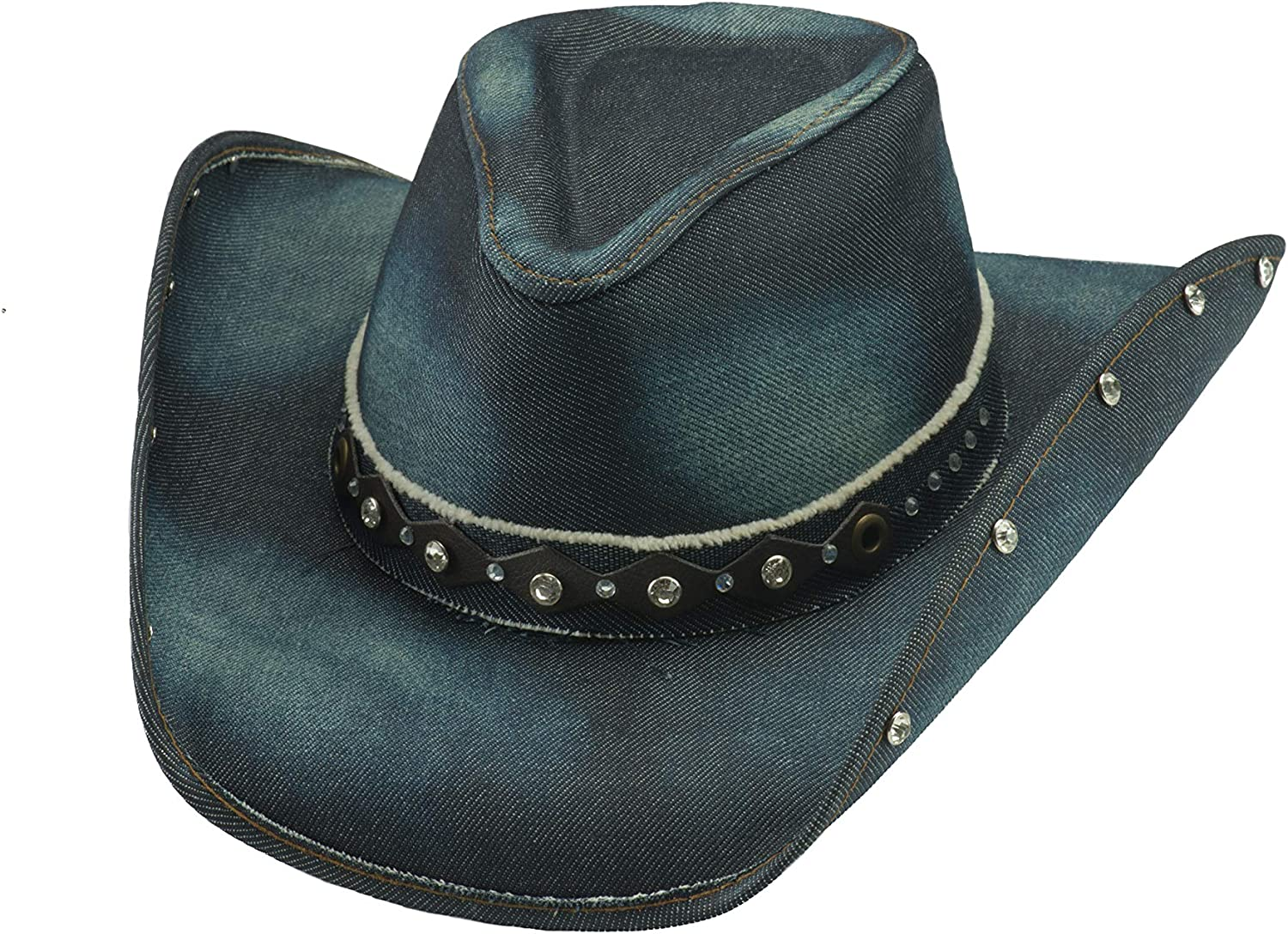 Special price for a limited time Bullhide Better Than Yesterday Denim Hat Popularity Western 2792