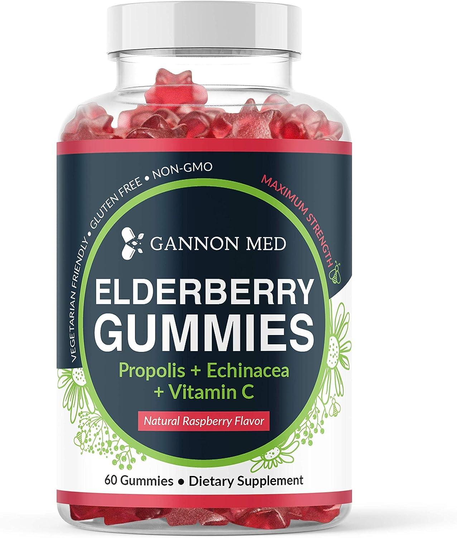 Elderberry Gummies for Kids Adults Immune Vitamin Super intense SALE Support C Max 46% OFF -