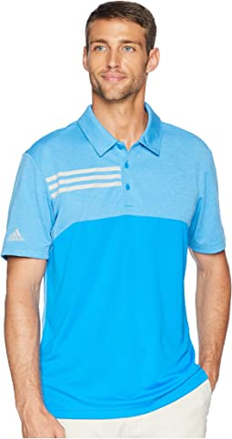 3-Stripes Heather Block Polo