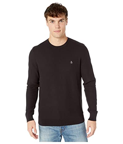 Original Penguin Tuck Stitch Sweater (True Black) Men