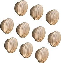 Abdeckkappen Schutzkappen für Rollladen 20 Stück silber//naturell 10 mm