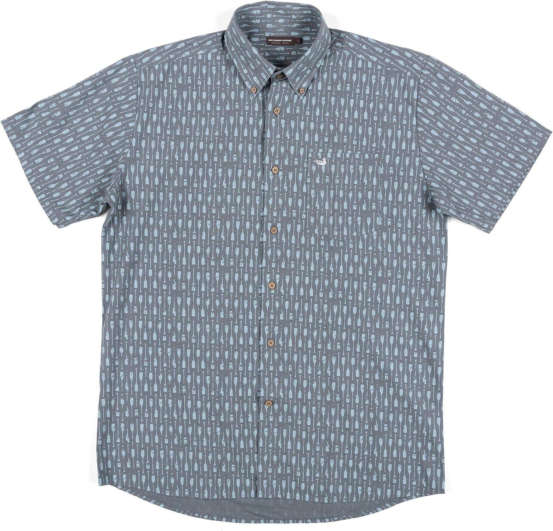 Atoll Woven Shirt - Geometric Fish