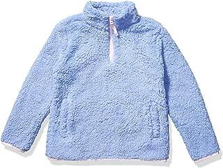 Girl's Polar Fleece Lined Sherpa Quarter-Zip Jacket
