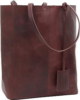 Gusti Shopper Leder - Cassidy Handtasche Ledertasche Umhängetasche Henkeltasche Laptoptasche 13L Tasche Damen groß