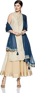 W for Woman Dupatta (18AUW80050-210022_Blue_Free size)