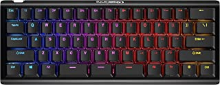KINESIS Gaming TKO Mechanical Keyboard Limited Edition (60% Layout, Optional Split Spacebar, Hotswap, Double PBT Keycaps, ...