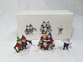 Dept 56 Sing a Song for Santa #5631-6 Heritage Village Collection North Pole Series - Set of 3 Figures
