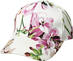 Collection XIIX - Satin Floral Baseball
