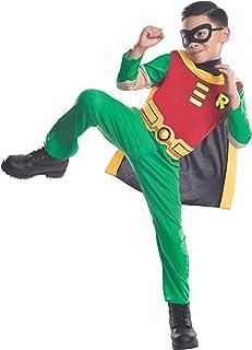 Teen Titans Child'S Robin Costume, como se Muestra,