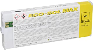 Roland Eco-Sol Max ESL3-YE Solvent Ink Cartridge 220ml Yellow